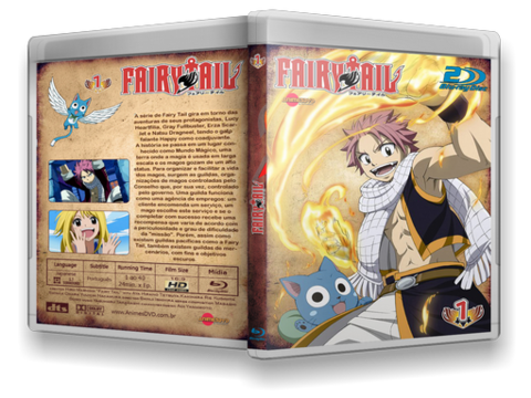 Fairy Tail bd cover