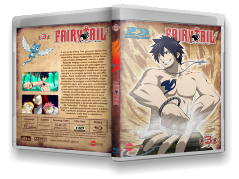 Fairy Tail bluray cover