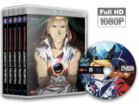 Fullmetal Alchemist: Brotherhood Blu-ray Cover