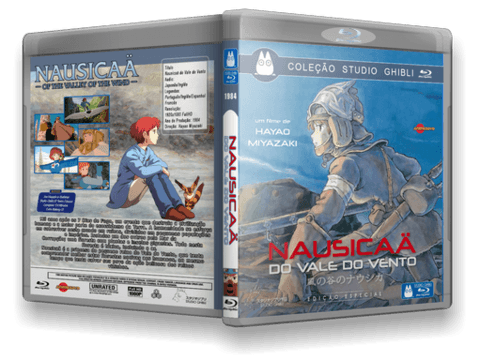 Nausicaa Blu-ray cover