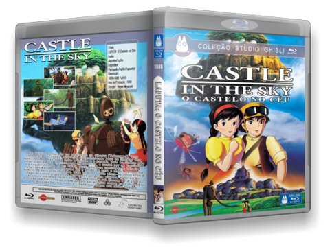 O Castelo no Céu Blu-ray cover