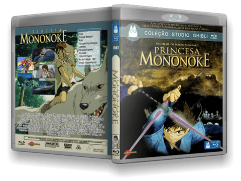 Princesa Mononoke Blu-ray Cover