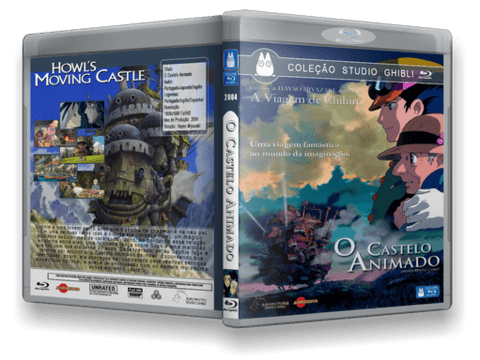 O Castelo Animado Blu-ray Cover