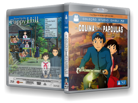 From on up Poppy Hill Cover Capa