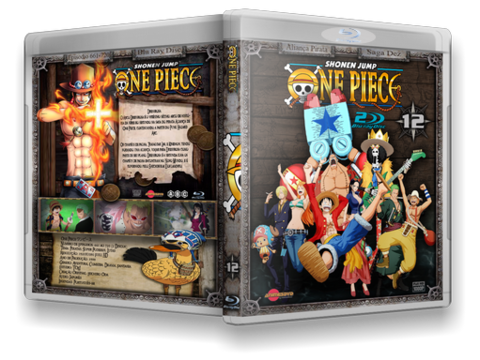 One Piece Blu Ray Cover