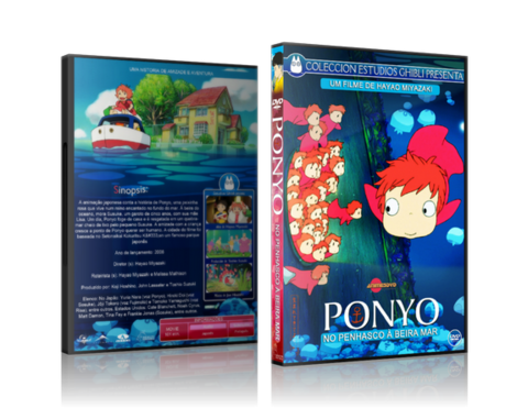 Ponyo on the Cliff by the Sea - comprar online