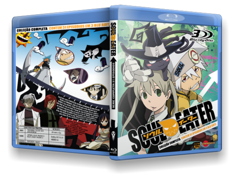 Soul Eater Blu Ray Cover