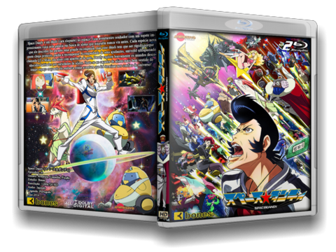 Space Dandy em Blu Ray cover