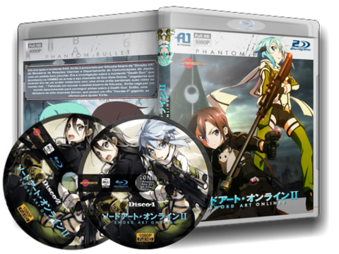 sword art online 2 blu ray cover