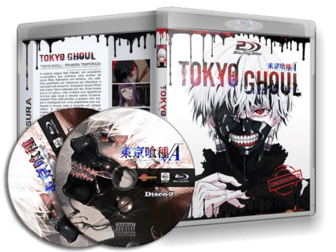 Tokyo Ghoul Blu Ray Cover