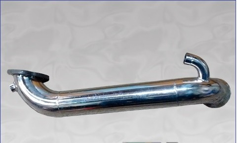 "Mini Cooper - Ds3 - Modelos 1.6 turbo – Downpipe de inox 304 de 2""1/2."
