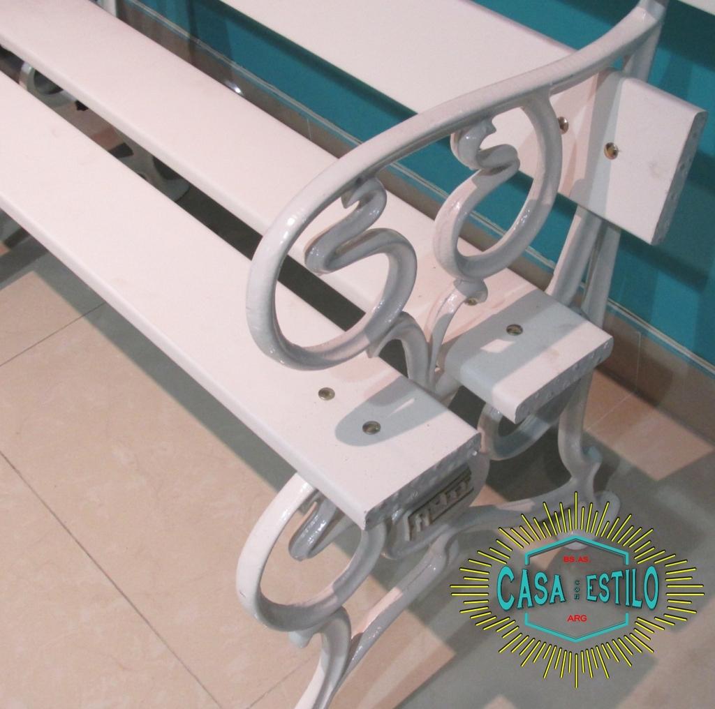 Juego de quincho c apoyabrazos fundicion de hierro filfer for Juego de jardin fundicion aluminio