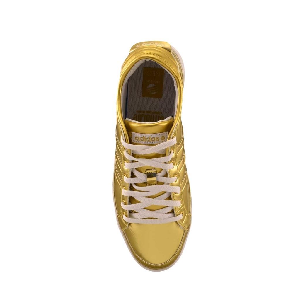 zapatillas doradas adidas neo