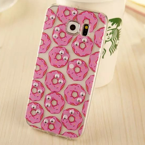 Funda Crazy Eyes S6 Edge