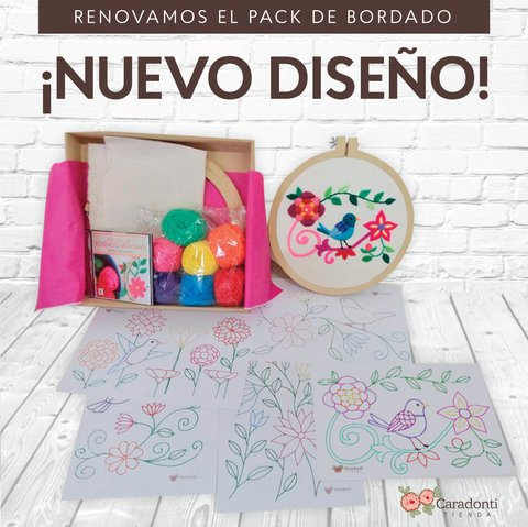 Pack de Bordado Mexicano