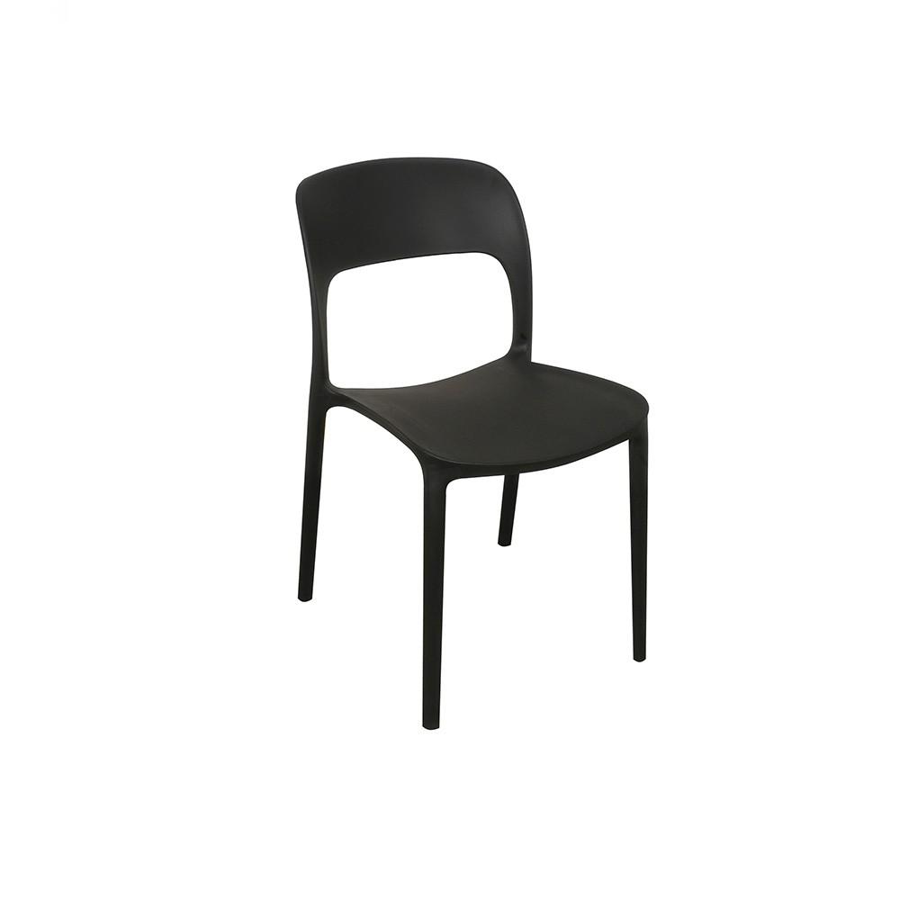 Silla gipsy negra comprar en kikely for Sillas negras tapizadas