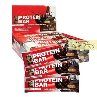 Protein Bar Barra Power Proteina Proteica Ultratech
