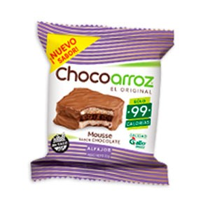 Chocoarroz de mouse de chocolate
