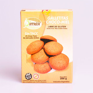 Galletitas Chocomiel x 200 gs  Dimax