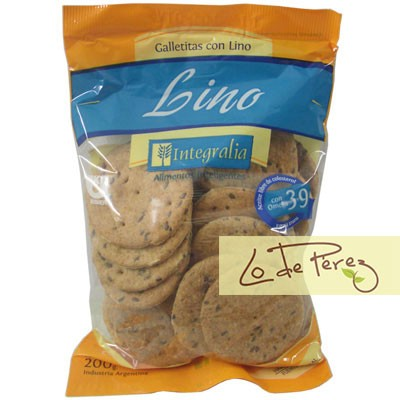Galletitas con Lino x 200 gs Integralia