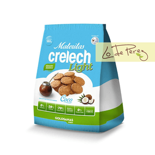 Galletitas Light de Coco x 180 gs Crelech