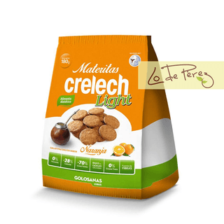 Galletitas dulces light sabor Naranja Crelech