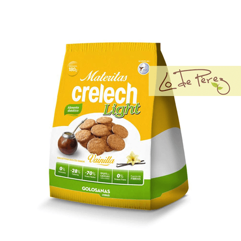 Galletitas materitas light sabor Vainilla Crelech