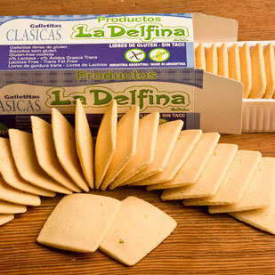 Galletitas Clásicas (Crackers) x 130 gs La Delfina