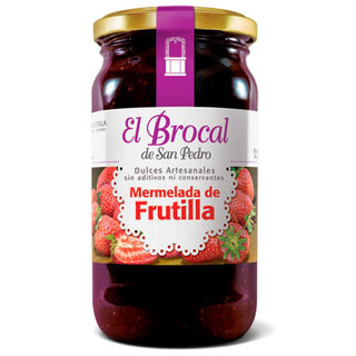 Mermelada Frutilla x 420 gs El Brocal