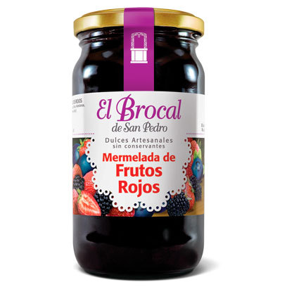 Mermelada Frutos Rojos x 420 gs El Brocal