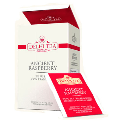 Ancient Raspberry x 20 saquitos Delhi Tea