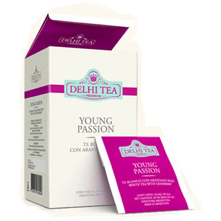 Young Passion x 20 saquitos Delhi Tea