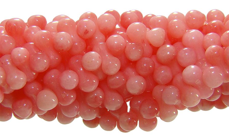 Coral Rosa Formato Gominho