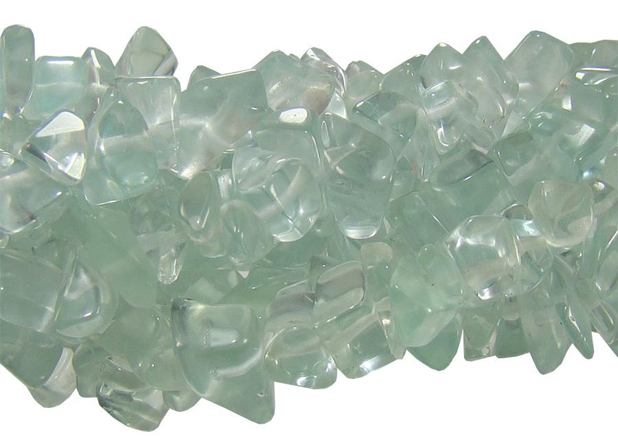 fio de cascalho cristal verde