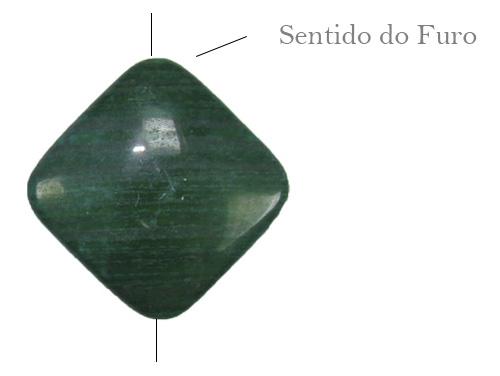 Malaquita formato losango