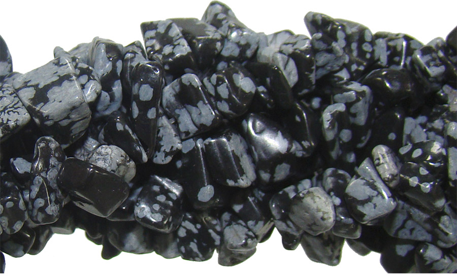 fio de cascalho obsidiana