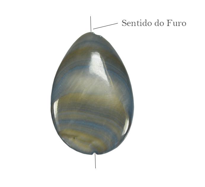 Gota de Madrepérola cinza
