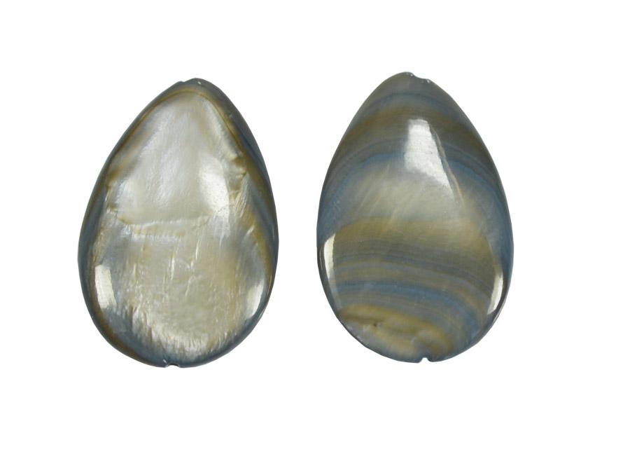 Madrepérola gota cinza
