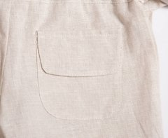 Linen long shorts on internet