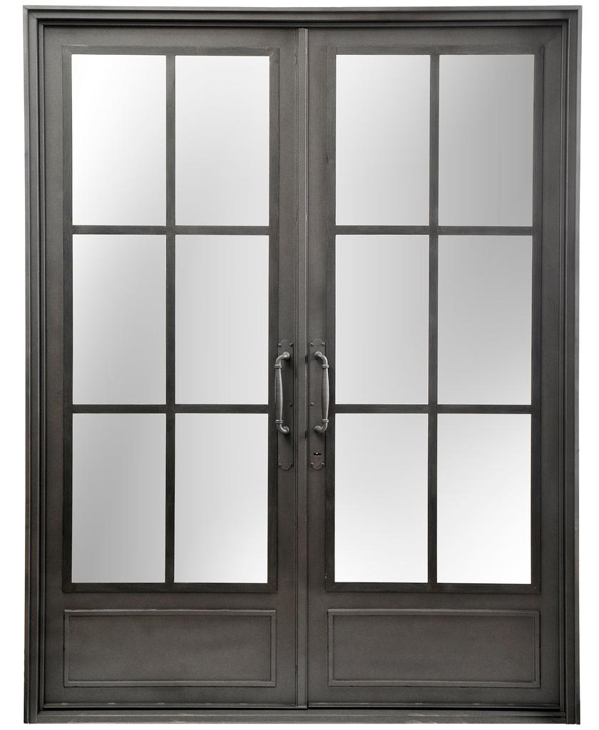 Pin puerta doble hoja de frente madera pinotea buenos - Puerta corredera doble hoja ...
