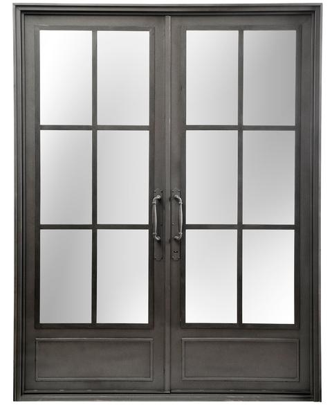 Del hierro design - Puertas doble hoja ...