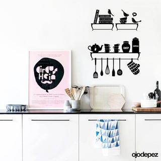 Home 037 objetos de cocina ojodepez vinilos decorativos for Objetos de cocina