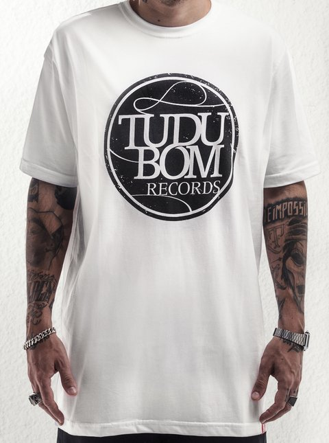 Camiseta Tudubom Records Branca + CD RXVXL