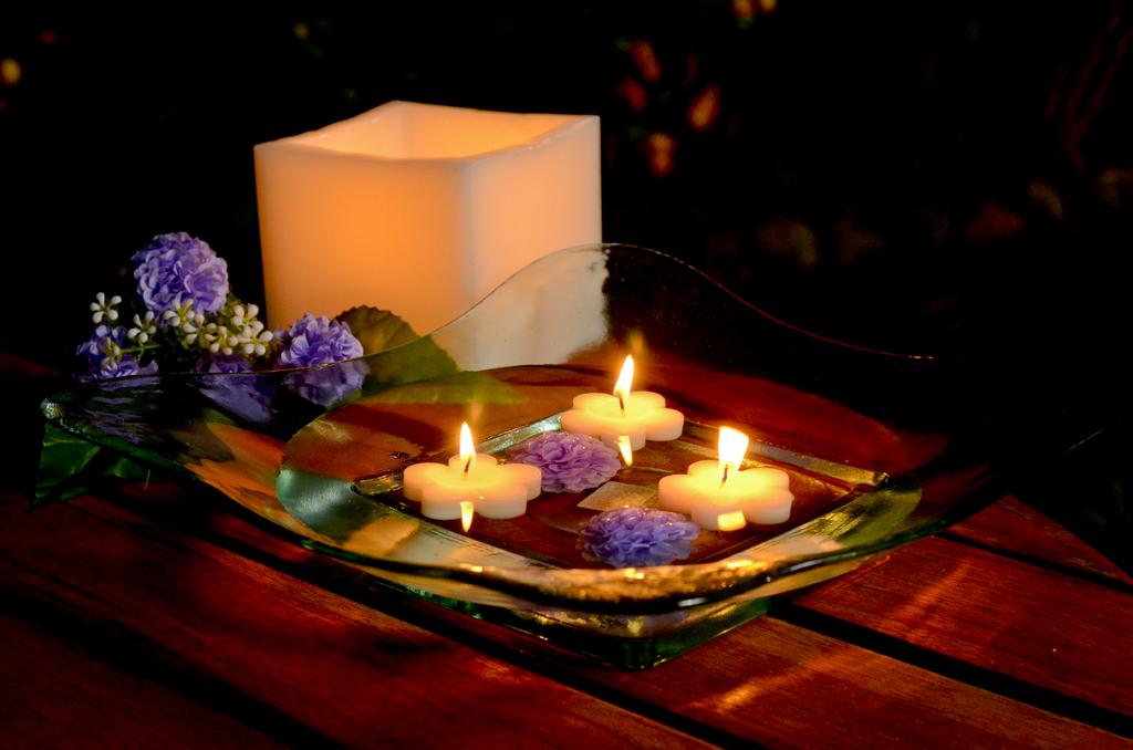 Velas decorativas flotantes velas flotantes flor mini x - Velas decorativas ...