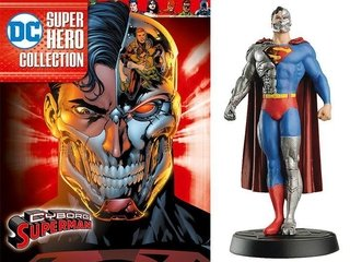 Estatuilla Cyborg Superman + Booklet