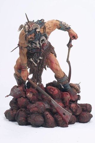 Figura Attila the Hun (6 faces of madness) Mcfarlane Toys