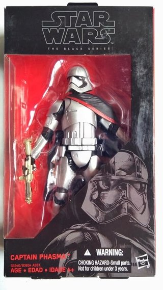 Figura Star wars The Black Series - Captain Phasma
