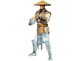 Figura Mezco PX Previews Exclusive - Raiden Mortal Kombat X