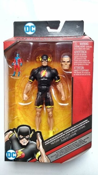 Figura DC Comics Multiverse - The Flash and the Atom