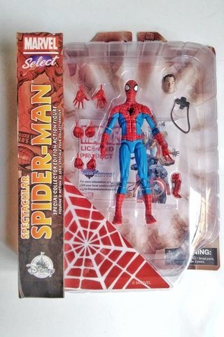Figura Marvel Select - Spectacular Spiderman
